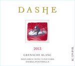 2013 Grenache Blanc Monarch Mine Vineyard, Sierra Foothills