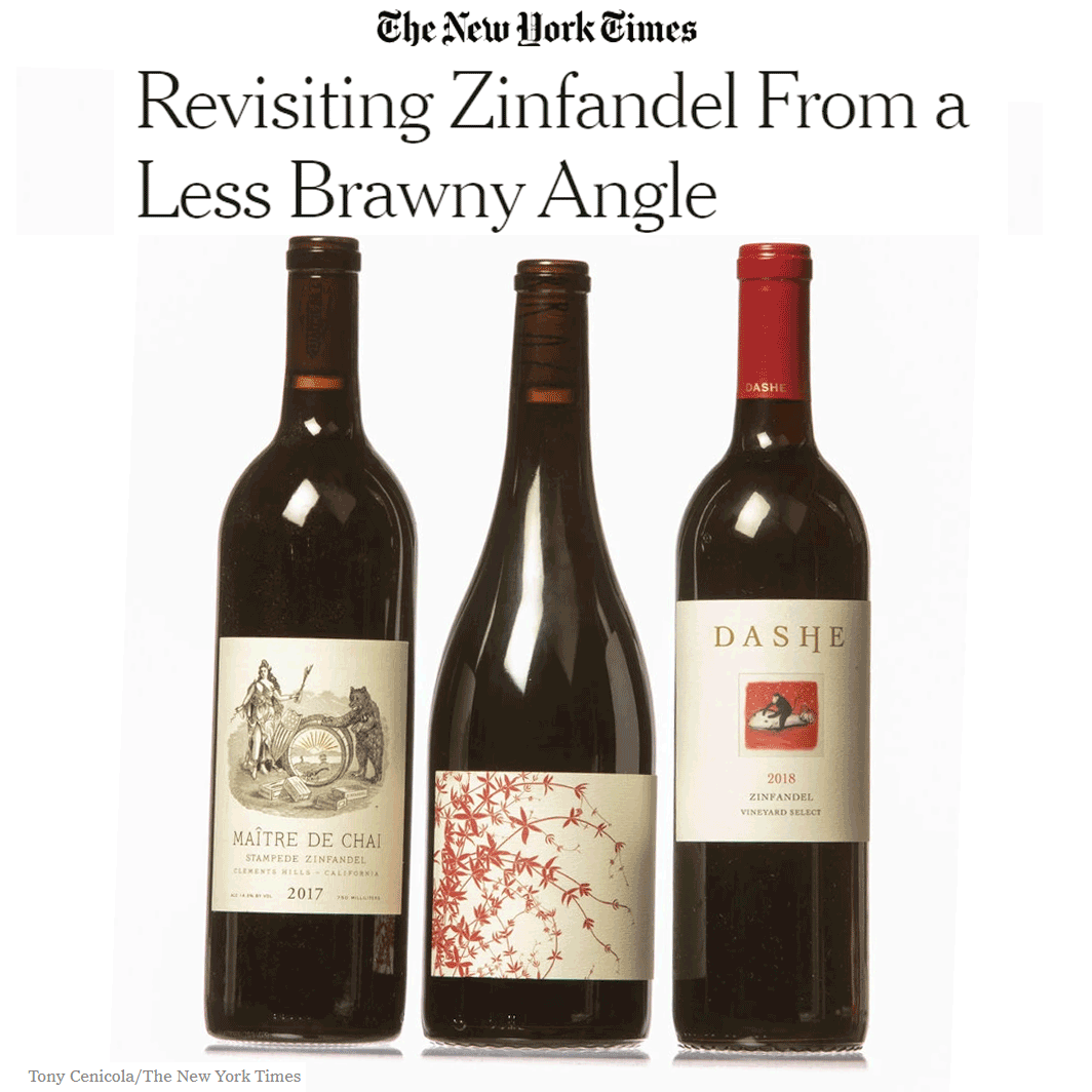 Revisiting Zinfandel From a Less Brawny Angle